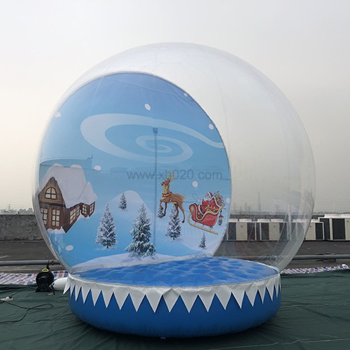 inflatable snow globe for sale