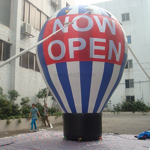 inflatable advertising ground balloon