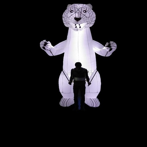Inflatable Polar Bear Parade led