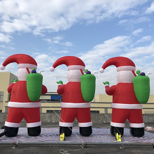 16.5ft tall Inflatable Christmas Decorations Santa