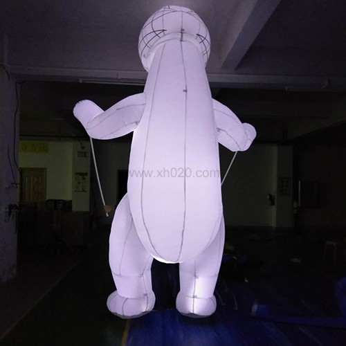 Inflatable Polar Parade Bear led
