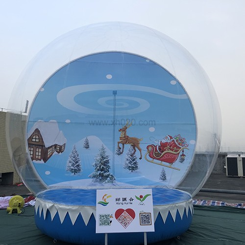 Inflatable Snow Globe Photo Booth