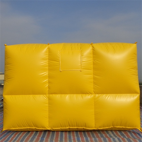 Inflatable safety cushion