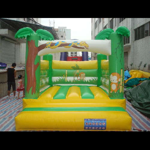 Jungle Inflatable Bounce Castles