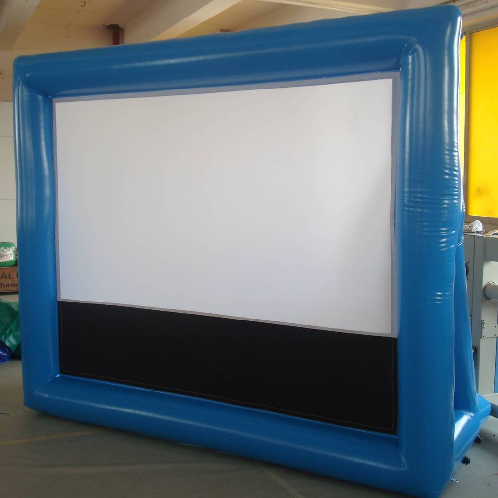 Sealed inflatable screens series
