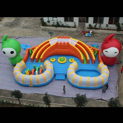 Inflatable fun city,Inflatable playground park,Inflatable slide