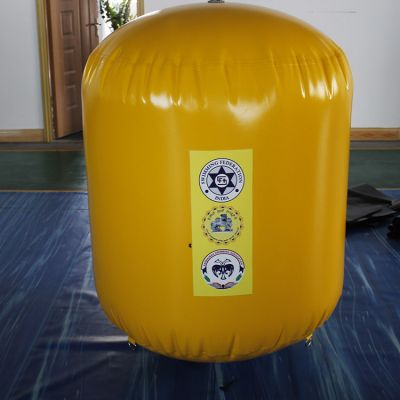 Inflatable race marks buoys